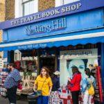 Der Travel Book Shop am Portobello Road Market in Notting Hill