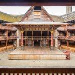 Bühne in Shakespeare's Globe Theatre