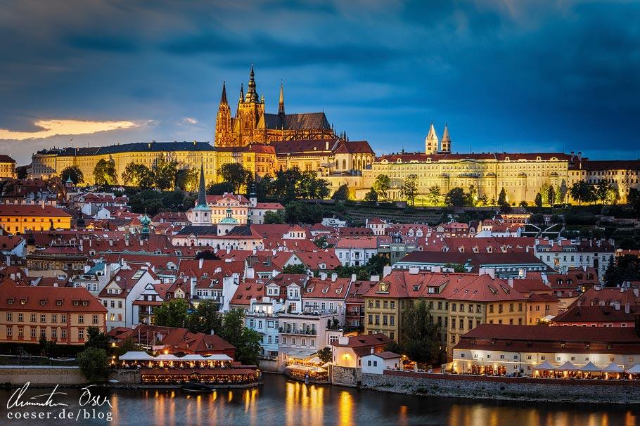 Aussichtspunkt Altstädter Brückenturm in Prag