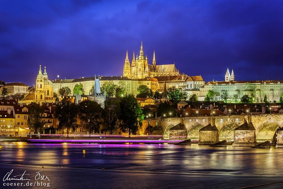 Aussichtspunkt Karlovy lázně in Prag