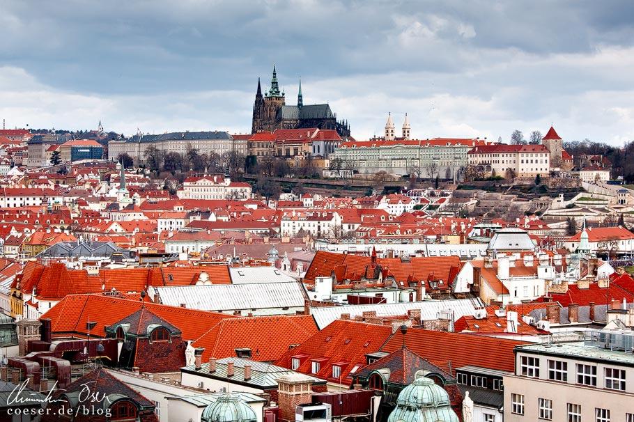 Aussichtspunkt Turm des Altstädter Rathauses in Prag