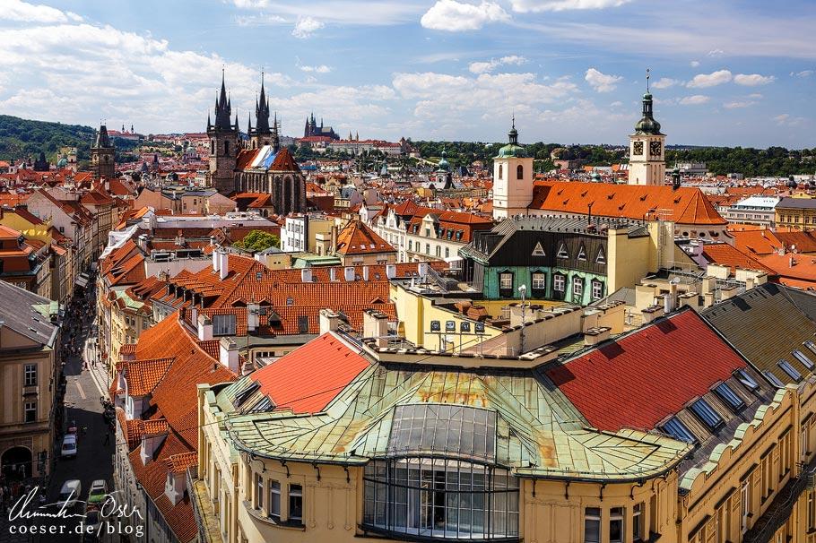 Aussichtspunkt Pulverturm (Prašná brána) in Prag