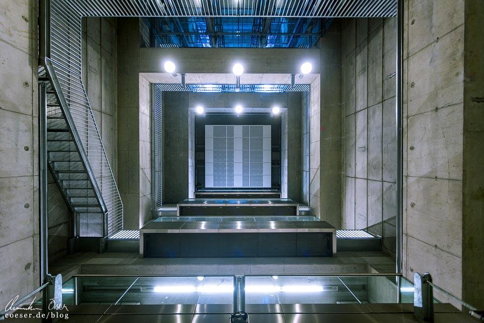 U1-Station Altes Landgut der Wiener U-Bahn · Architekt: Architektengruppe U-Bahn (AGU)