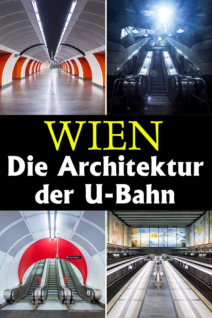 Wiener U-Bahn: 25 Fotos zeigen die Architektur und Ästethik der Stationen. Darunter Karlsplatz, Schottenring, Westbahnhof und viele andere.
