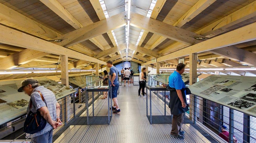 Ausstellung in der Dokumentation Obersalzberg in Berchtesgaden