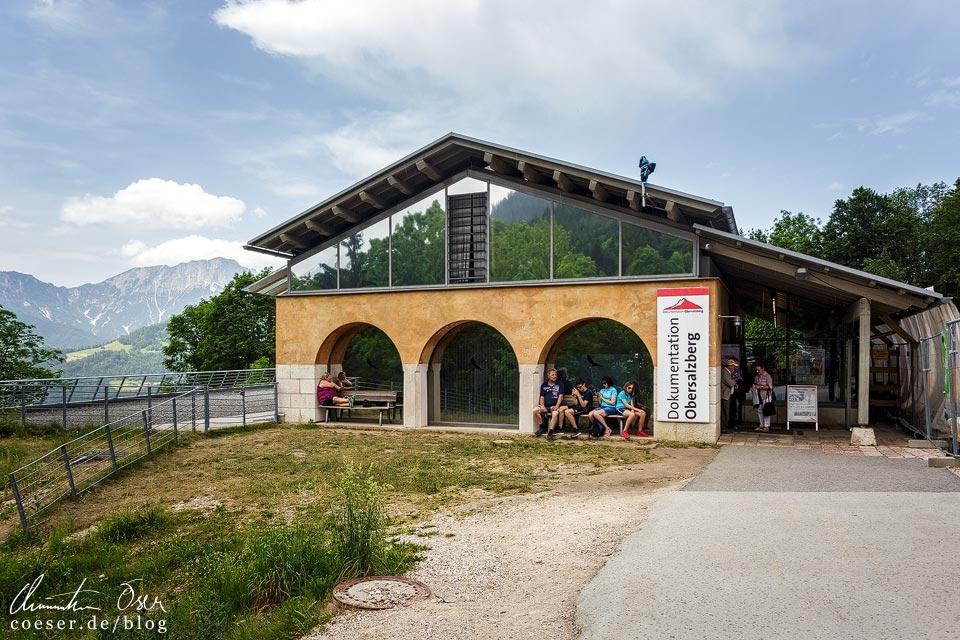 Gebäude der Dokumentation Obersalzberg in Berchtesgaden