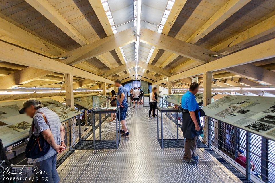 Dauerausstellung der Dokumentation Obersalzberg in Berchtesgaden