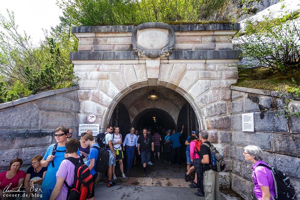 Eingangsportal des Tunnels zum Kehlsteinhaus