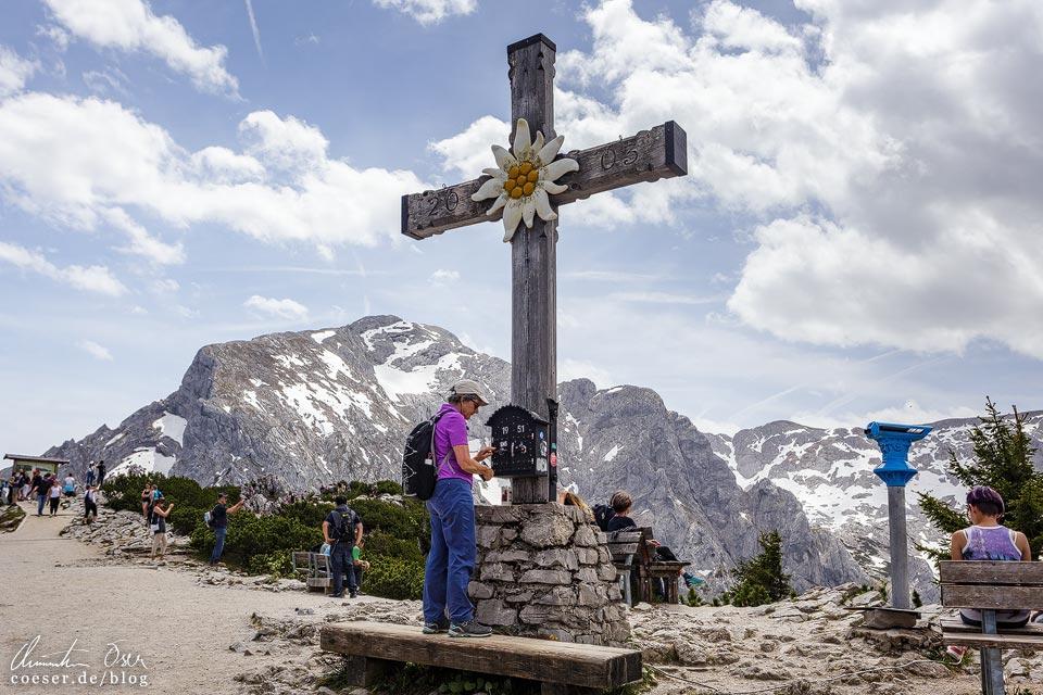 Gipfelkreuz auf dem Kehlstein