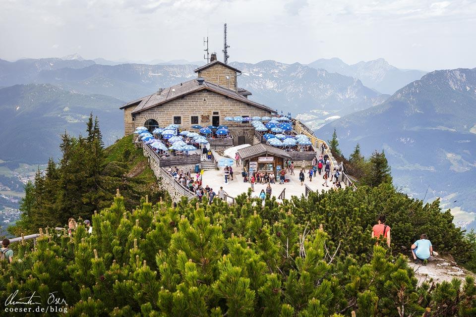Blick auf das Kehlsteinhaus in Berchtesgaden