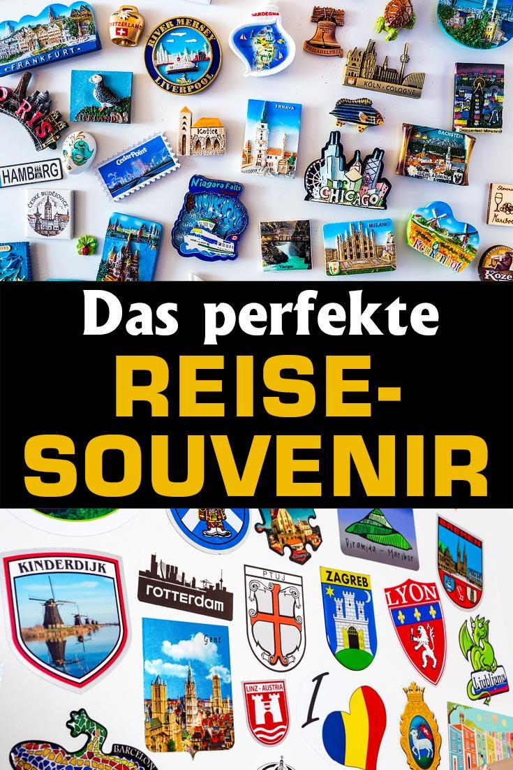Blogartikel über die Suche nach dem perfekten Reisesouvenir wie Magnete, Aufkleber, Postkarten, Schlüsselanhänger, Gewürze, Stoffe und vieles mehr.