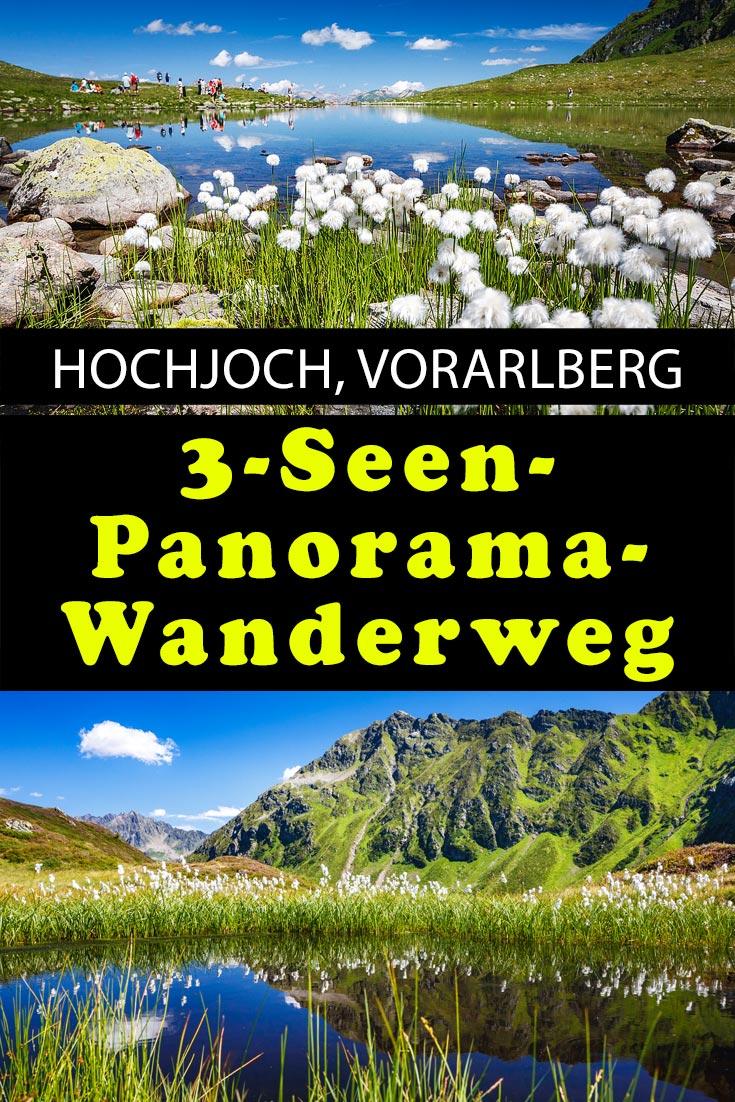 3-Seen-Wanderung auf dem Hochhoch im Montafon, Vorarlberg. Erfahrungsbericht mit Tipps, den besten Fotospots sowie allgemeinen Hinweisen.