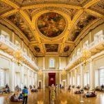 Panorama der Banqueting Hall im Banqueting House in London