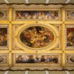 Deckengemälde in der Banqueting Hall im Banqueting House in London