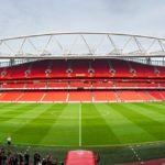 Panorama des Emirates Stadium (Arsenal FC) in London