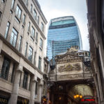 Eingang zum Leadenhall Market in London