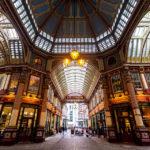 Innenansicht des Leadenhall Market in London