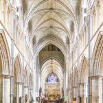 Innenansicht der Southwark Cathedral in London