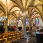 Krypta in der Southwark Cathedral in London