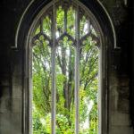 Detailansicht der ehemaligen Kirche St Dunstan-in-the-East in London