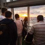 Besucher im Wolkenkratzer The Shard auf London