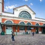 Außenansicht des London Transport Museum