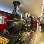 Alte Eisenbahn im London Transport Museum