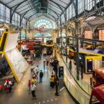 Innenansicht des London Transport Museum