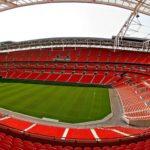 Panorama des Wembley Stadium in London