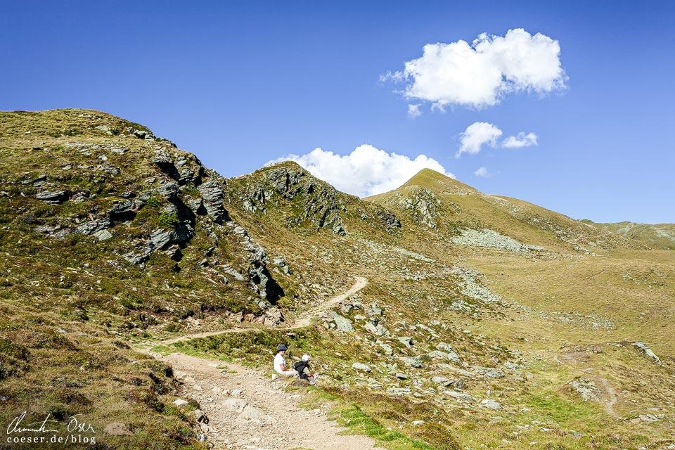 Wanderweg zu den Neualplseen in Osttirol