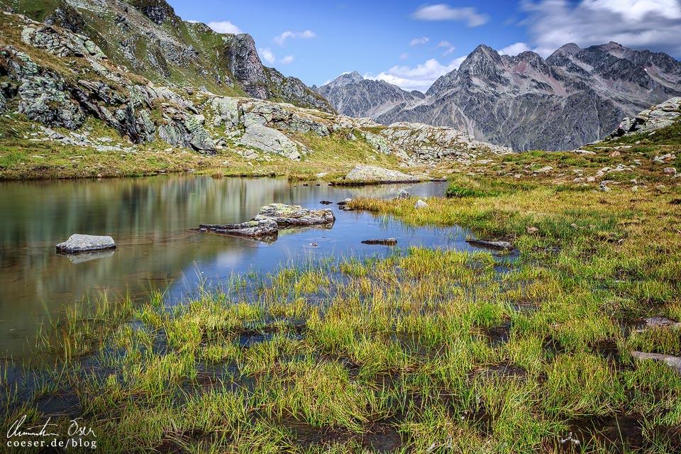 Die Neualplseen auf dem Zettersfeld in Osttirol