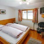 Doppelzimmer in der Pension Faneskla in Silbertal im Montafon