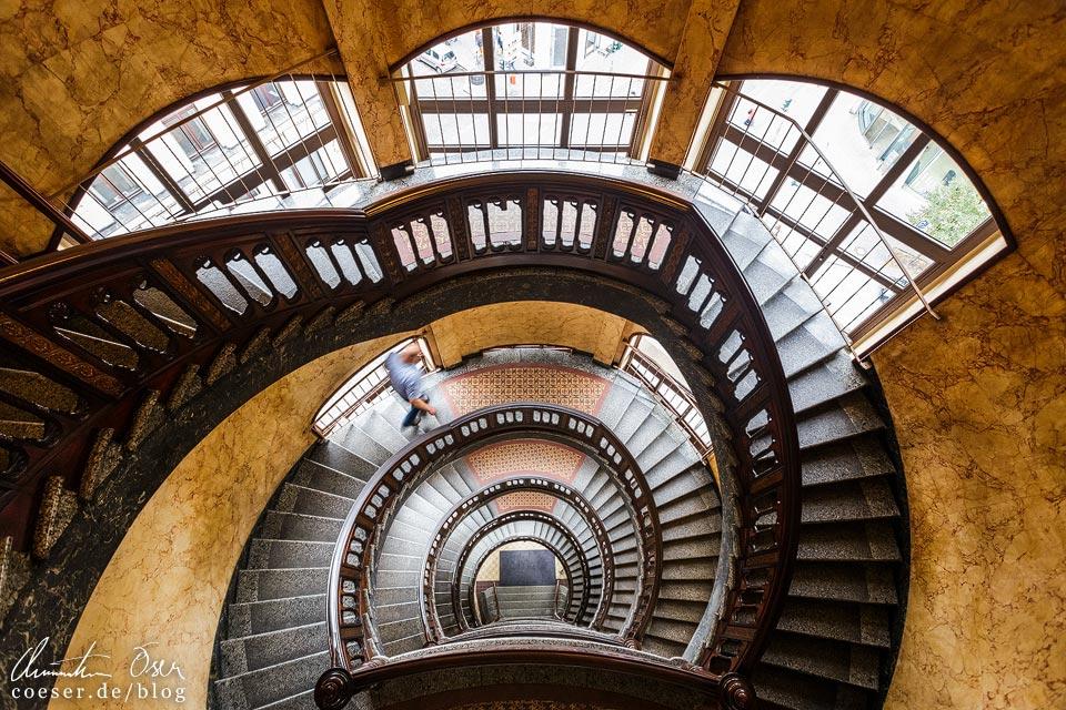Treppenhaus im Kontorhaus Alsterthor in Hamburg