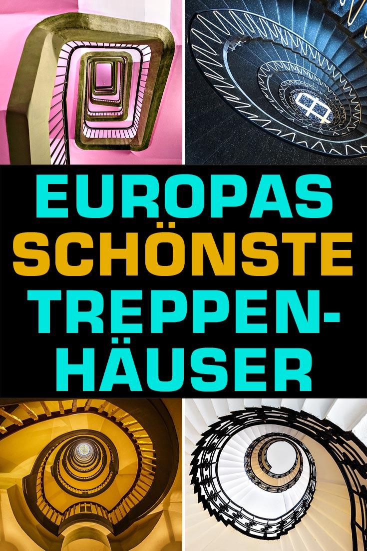 Treppenhäuser in Europa: Die 20 schönsten Stiegenhäuser in europäischen Städten wie München, Berlin, Prag, Antwerpen, Hamburg inklusive Fotospots.