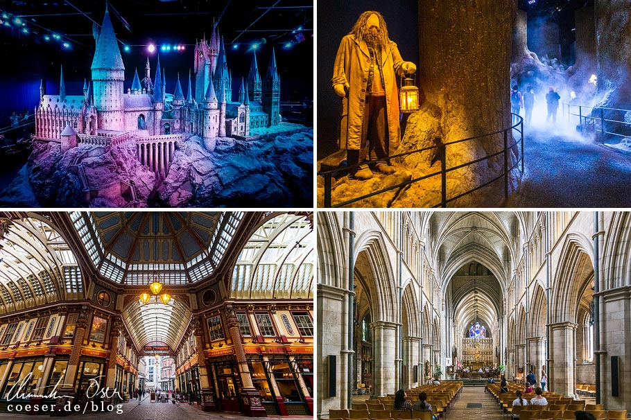 Citytrip nach London: Harry Potter Studios, Leadenhall Market, Southwark Cathedral