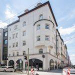 Außenansicht des Hotel Maison Schiller in München