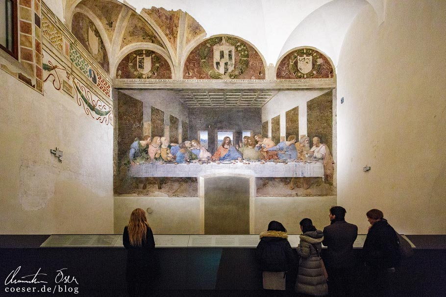 """""""Das Abendmahl"""" von Leonardo da Vinci in Mailand"""