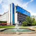 Außenansicht des 25hours Hotel Wien beim MuseumsQuartier
