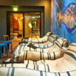Wellnessbereich im 25hours Hotel Wien beim MuseumsQuartier