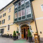 Außenansicht des Hotel Goldener Ochs in Bad Ischl
