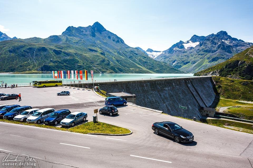 Rundwanderweg Silvretta-Stausee auf der Bielerhöhe