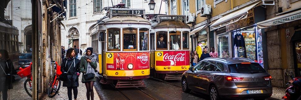 Die Tramway (Straßenbahn) von Lissabon
