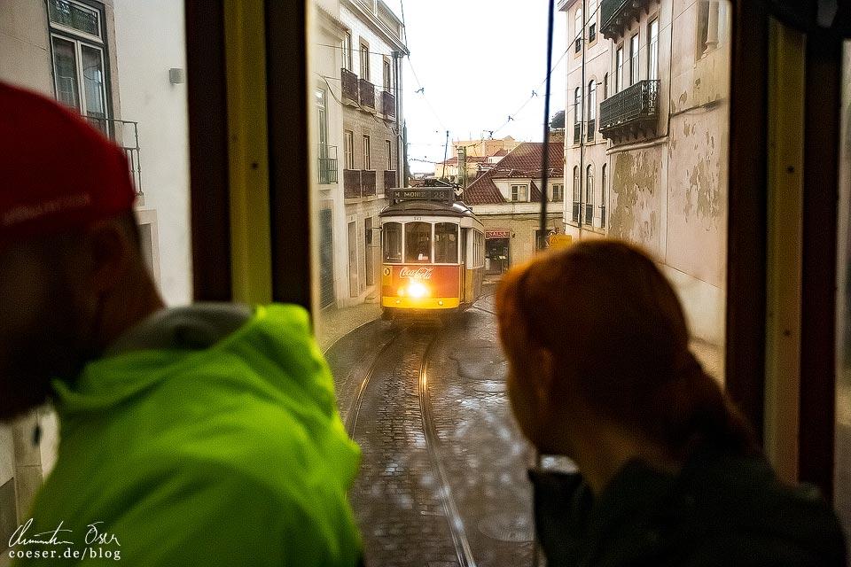 Straßenbahn (Tramway) in Lissabon