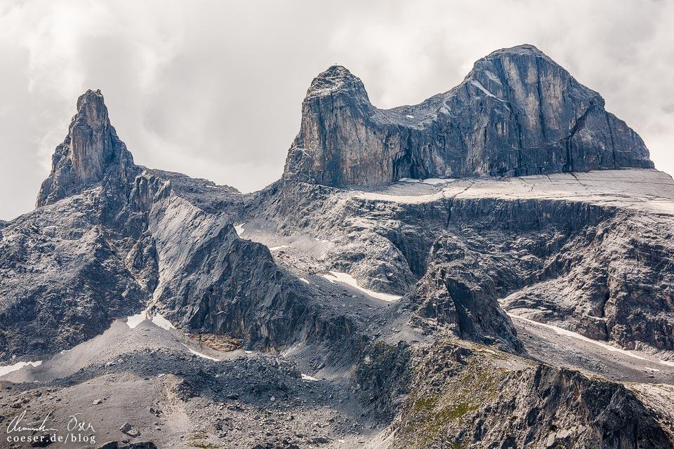 """""""Drei Türme"""" auf dem Latschätzer Höhenweg im Montafon"""