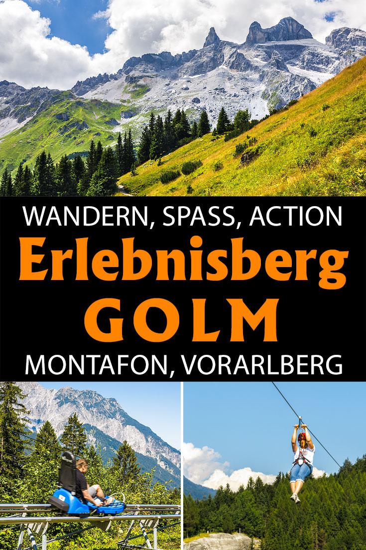 Erlebnisberg Golm im Montafon: Erfahrungsbericht zur Wanderung zur Lindauer Hütte, zum Waldseilpark, zum Alpine Coaster und zum Flying Fox.