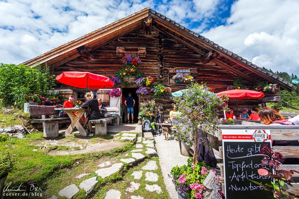 Pitschenberghütte auf der Postalm