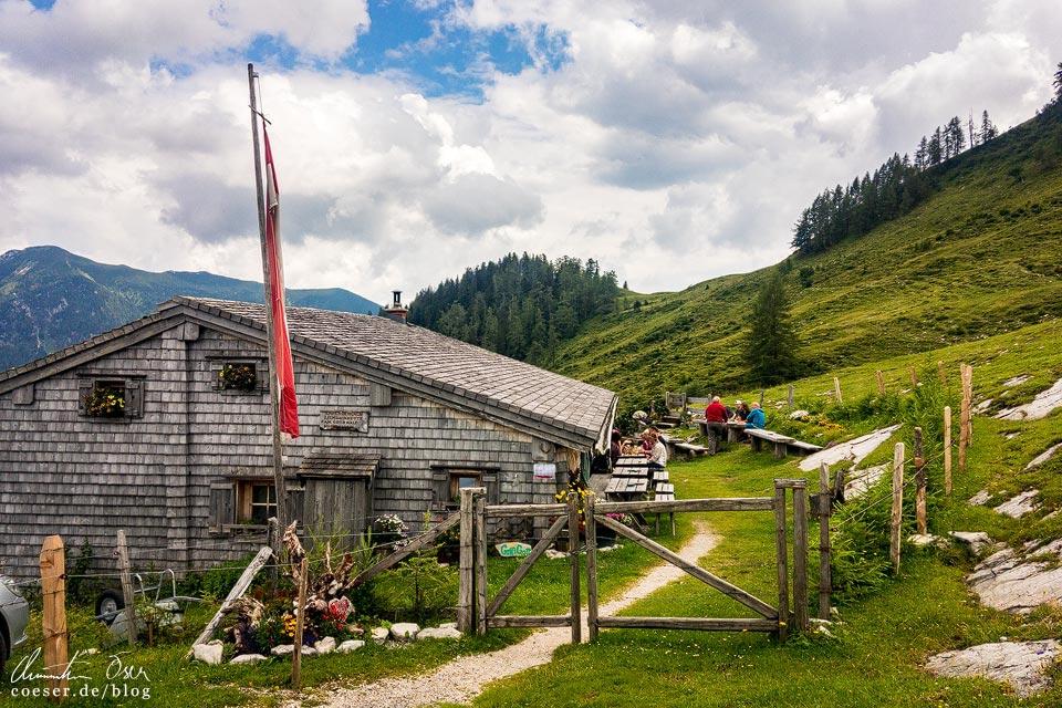 Labenbergalm-Lienbachhütte auf der Postalm