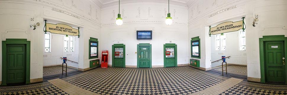 Otto-Wagner-Station Stadtpark in Wien