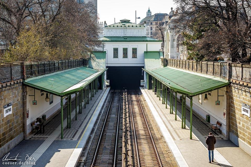 Station Stadtpark von Otto Wagner in Wien