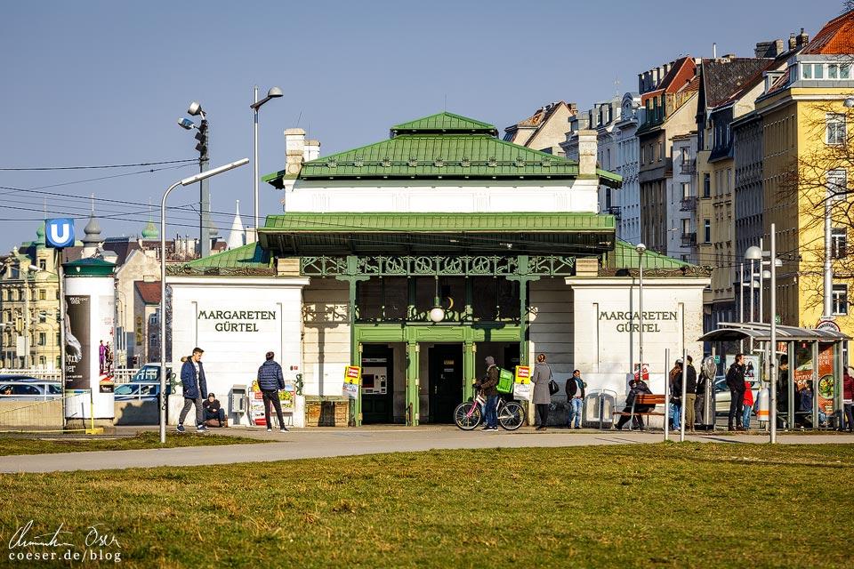 Station Margaretengürtel von Otto Wagner in Wien